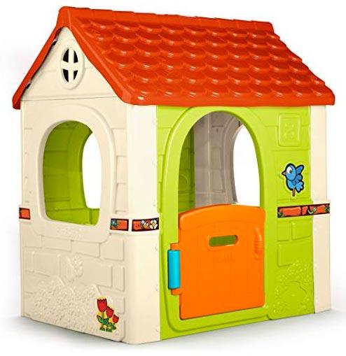 casa para niños con pegatinas feber