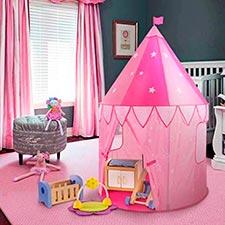 casita de tela para niños