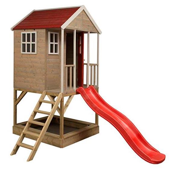 caseta infantil de madera