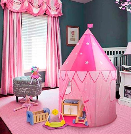 casa de tela para niños