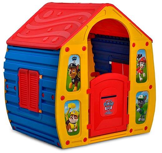casita infantil exterior de la patrulla canina