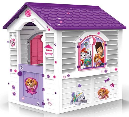 casita infantil paw patrol de plastico