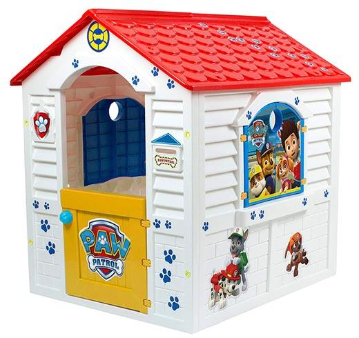 casita infantil de plastico de la patrulla canina