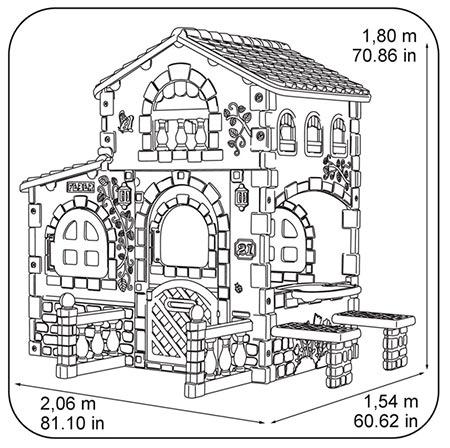 plano de casita feber grande villa