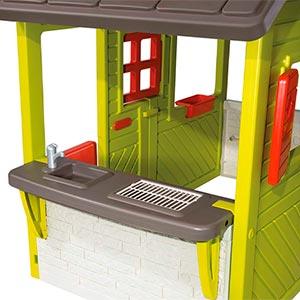 cocina de la caseta infantil smoby 310300