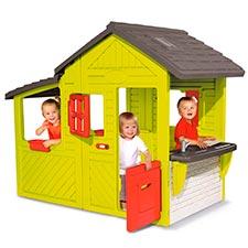 smoby 310300 casa invernadero para niños