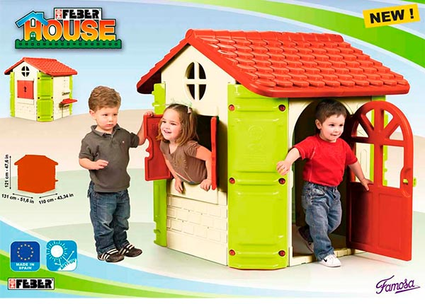 Feber House Casa Infantil de Juegos Famosa 800008572