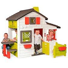 casa para niños smoby cluster