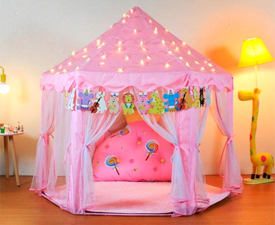 YOOBE Hexagon Princess Castle Play