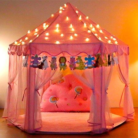 castillo de princesa YOOBE Hexagon Princess Castle Play