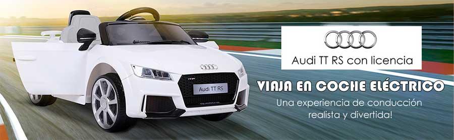 HOMCOM Audi TT Coche Eléctrico Infantil