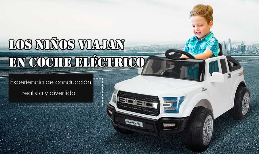 Caracteristicas de un coche electrico infantil