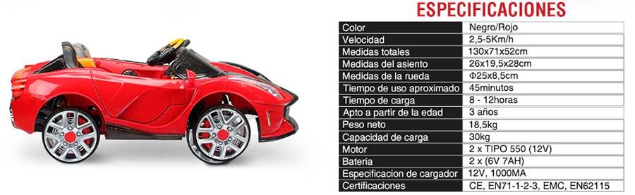 Tipos de coches electricos para niños