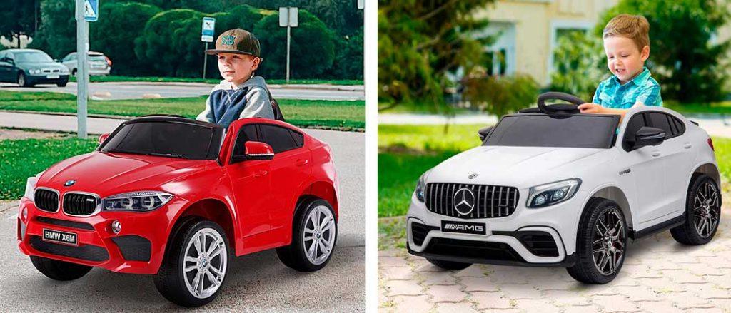 coches infantiles electricos homcom