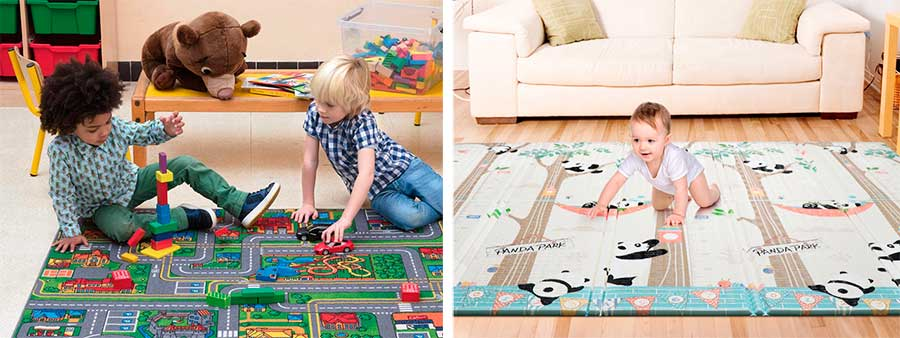 alfombras grandes infantiles