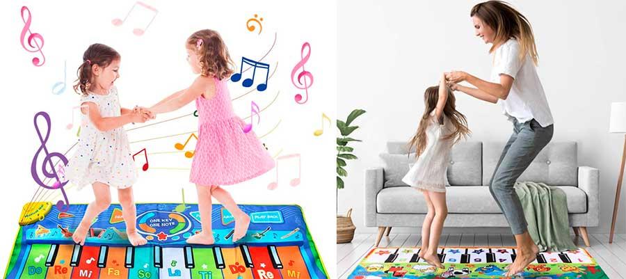 alfombras musicales para niños