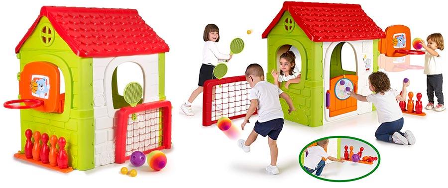 FEBER Activity House 6in1 Casa Infantil con Juegos Famosa 800012606