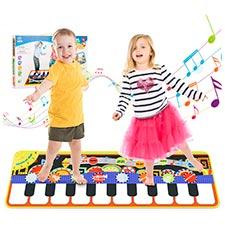 alfombra musical para niños