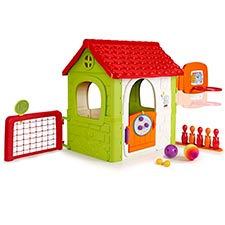 casita infantil FEBER Activity House 6in1 con Juegos