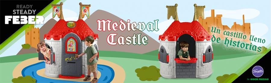 FEBER Castillo de Princesas Disney Frozen 2 Famosa 800012240