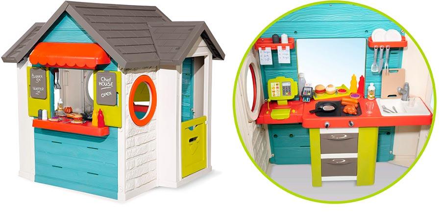 Smoby Casita Infantil Chef House 810403