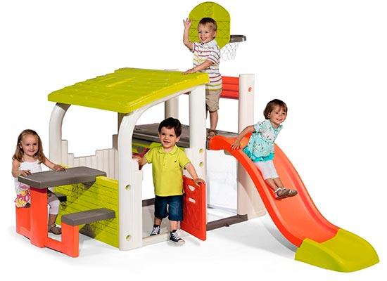 Smoby 840203 Área Multijuegos Infantiles