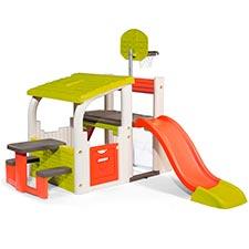 Smoby 840203 Área Multijuegos para niñas y niños