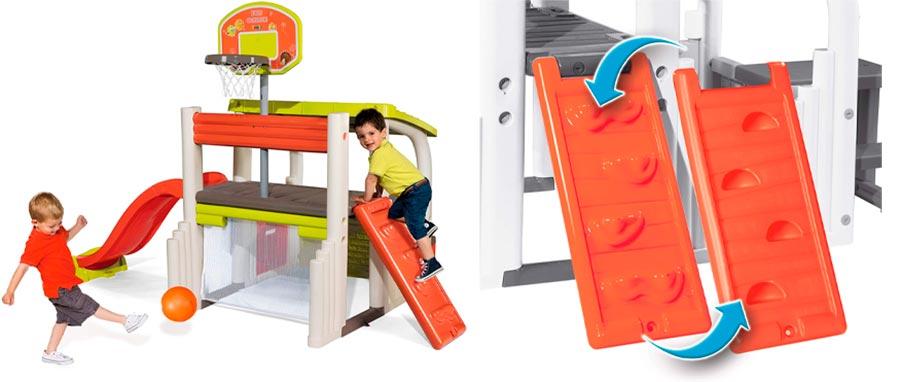 Smoby 840203 Área Multijuegos para niños
