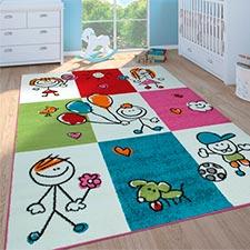 alfombras grandes para niñas y niños