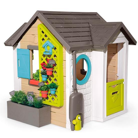 Smoby Casita Infantil Tematizada Garden House 810405