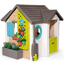 Smoby Casita Infantil Tematizada Garden House